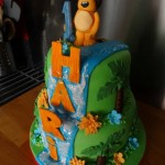Ra ra the noisy lion cake