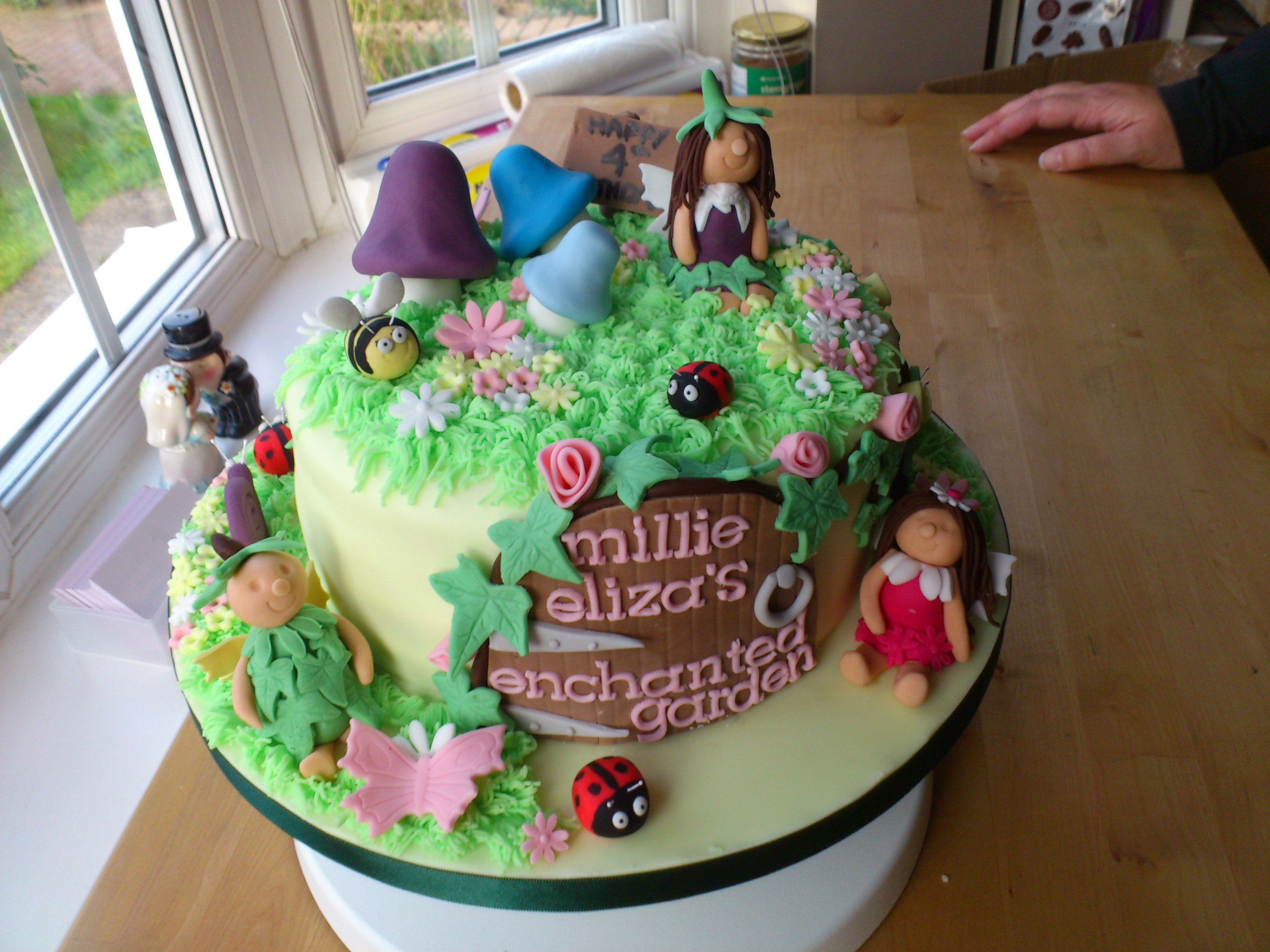 Fairy Garden Cake Images Garden Designs