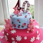 Cath Kidston inspired pig cake