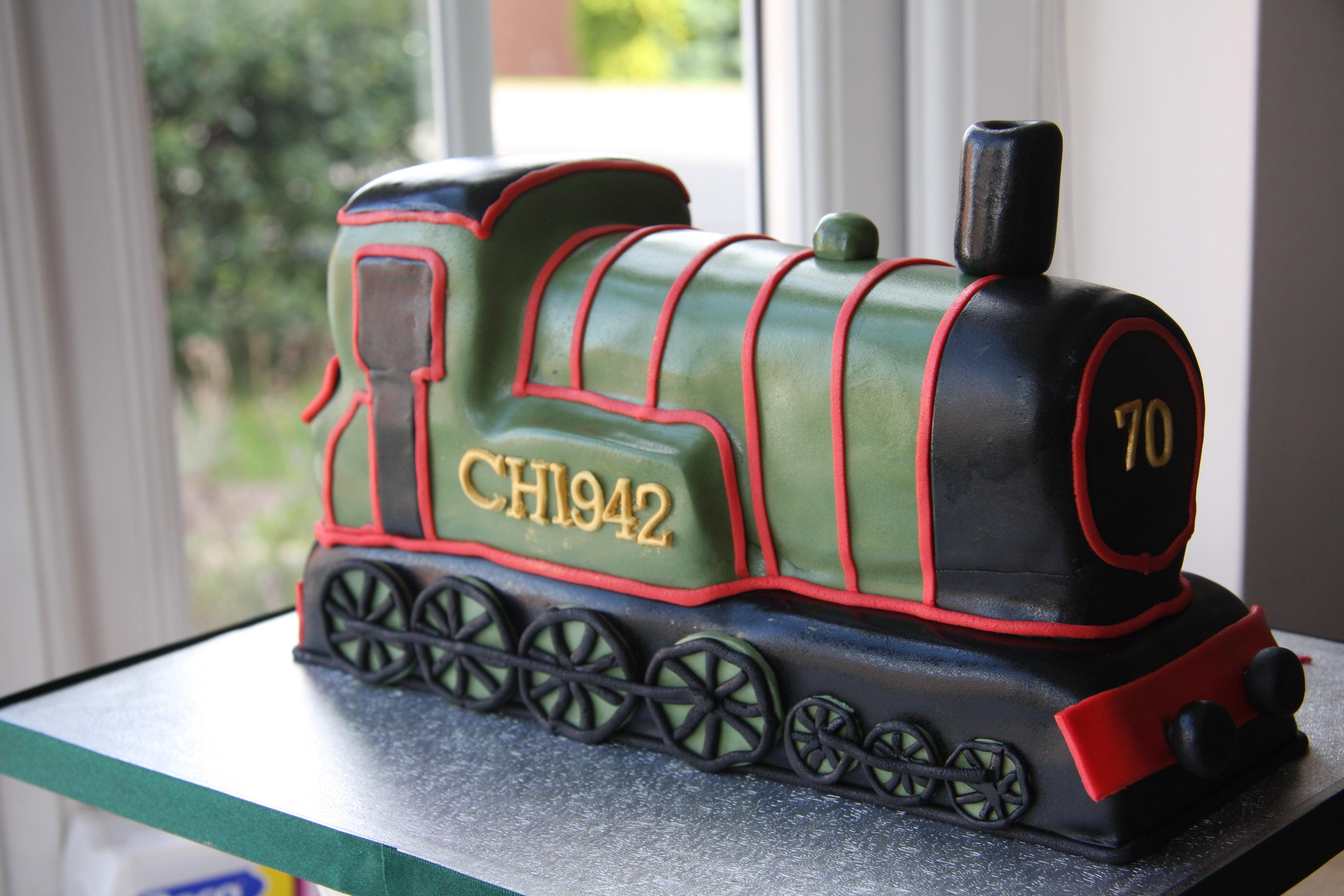 Steam Train Little Black Hen