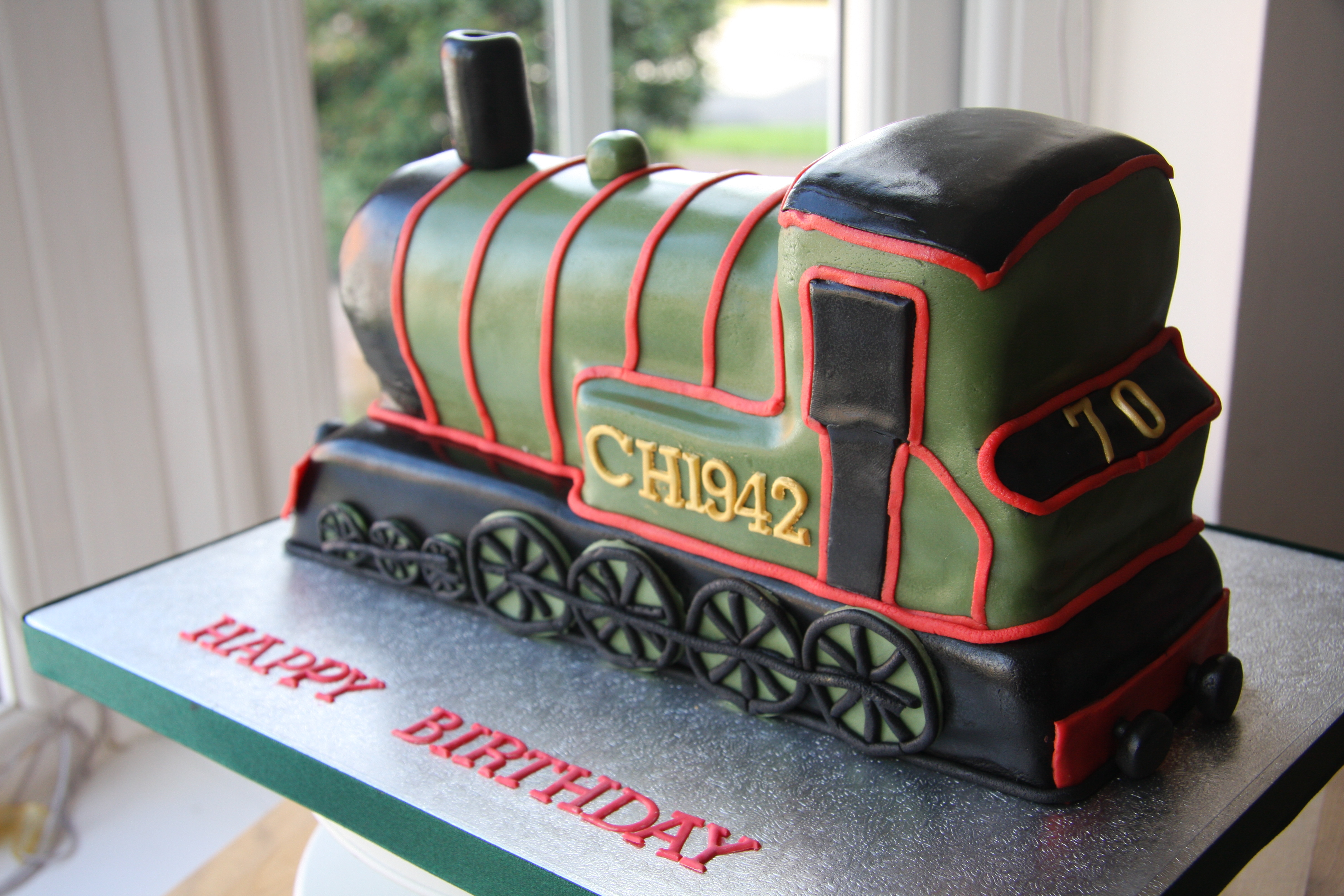 Steam Train Cake Images : 3888px