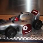 F1 car cake
