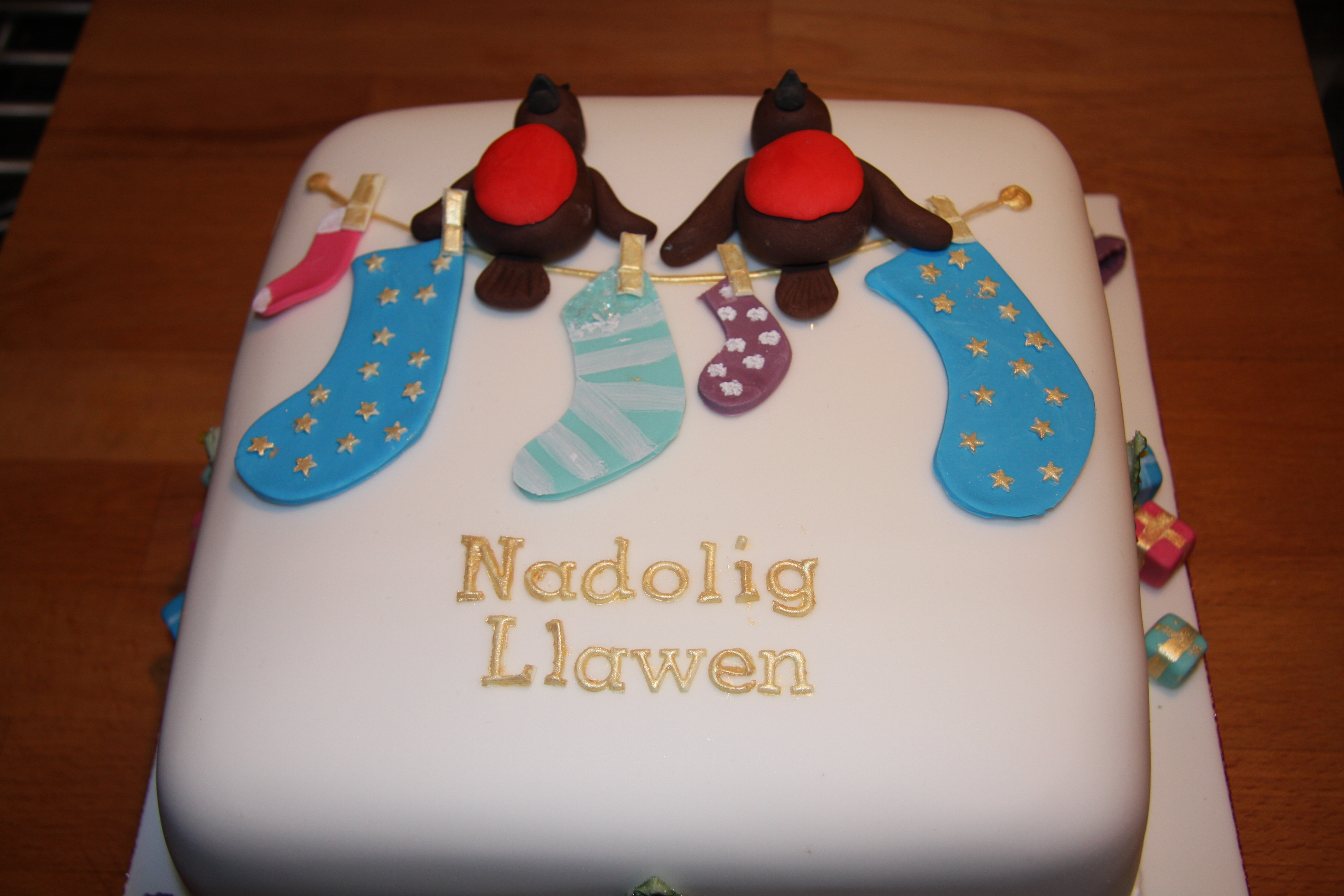 Our Christmas Cakes Little Black Hen