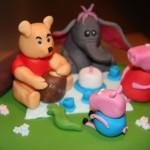 Peppa pig and friends cake