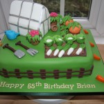 a Cake for the keen gardener
