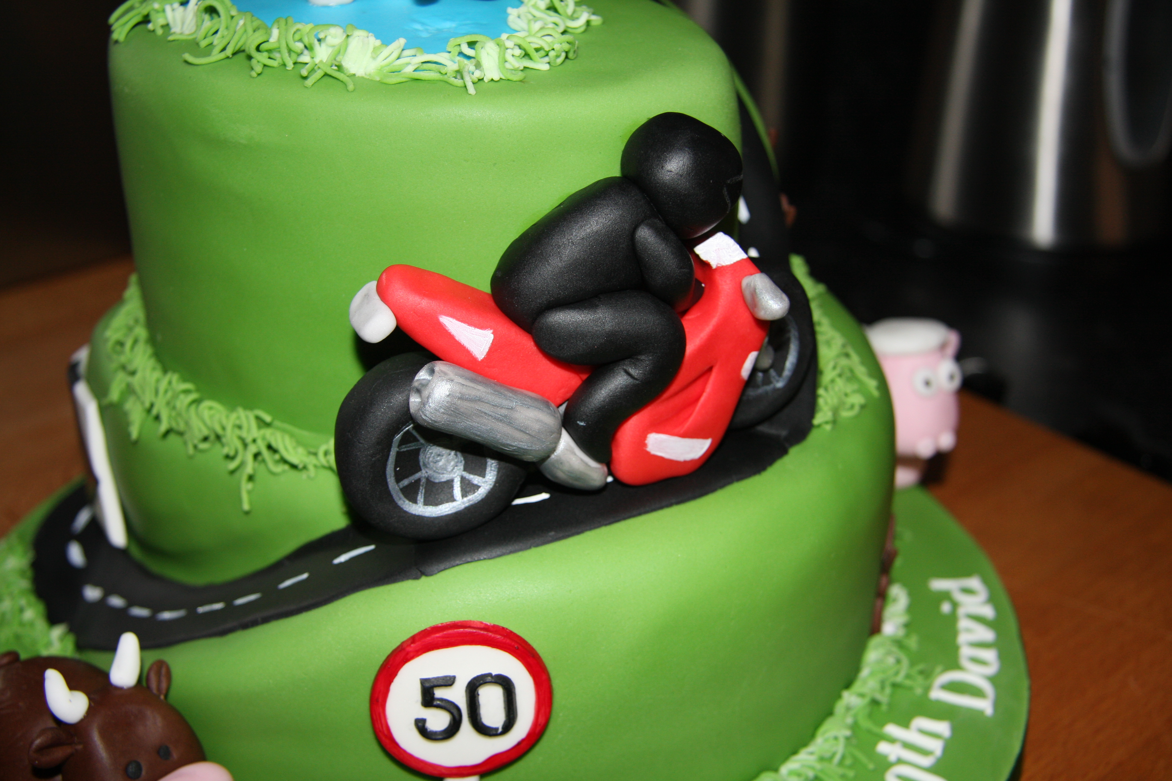 Motorbike Fun Little Black Hen