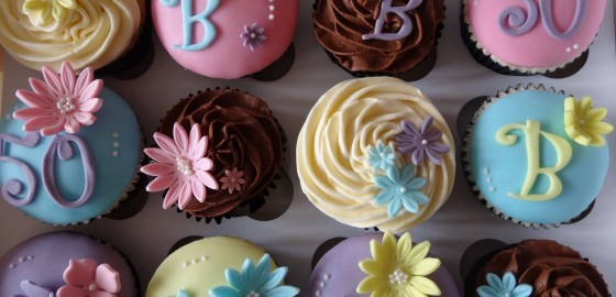 Summery cupcakes
