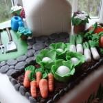 Gardening cake