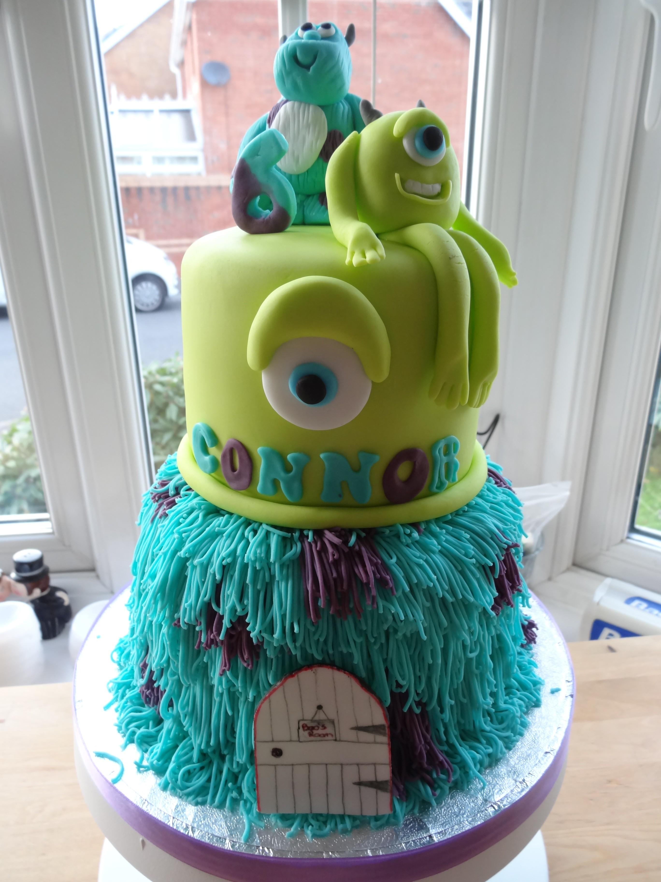 monster inc cake monsters inc cake