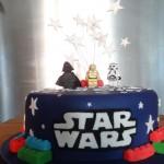 Star wars lego cake