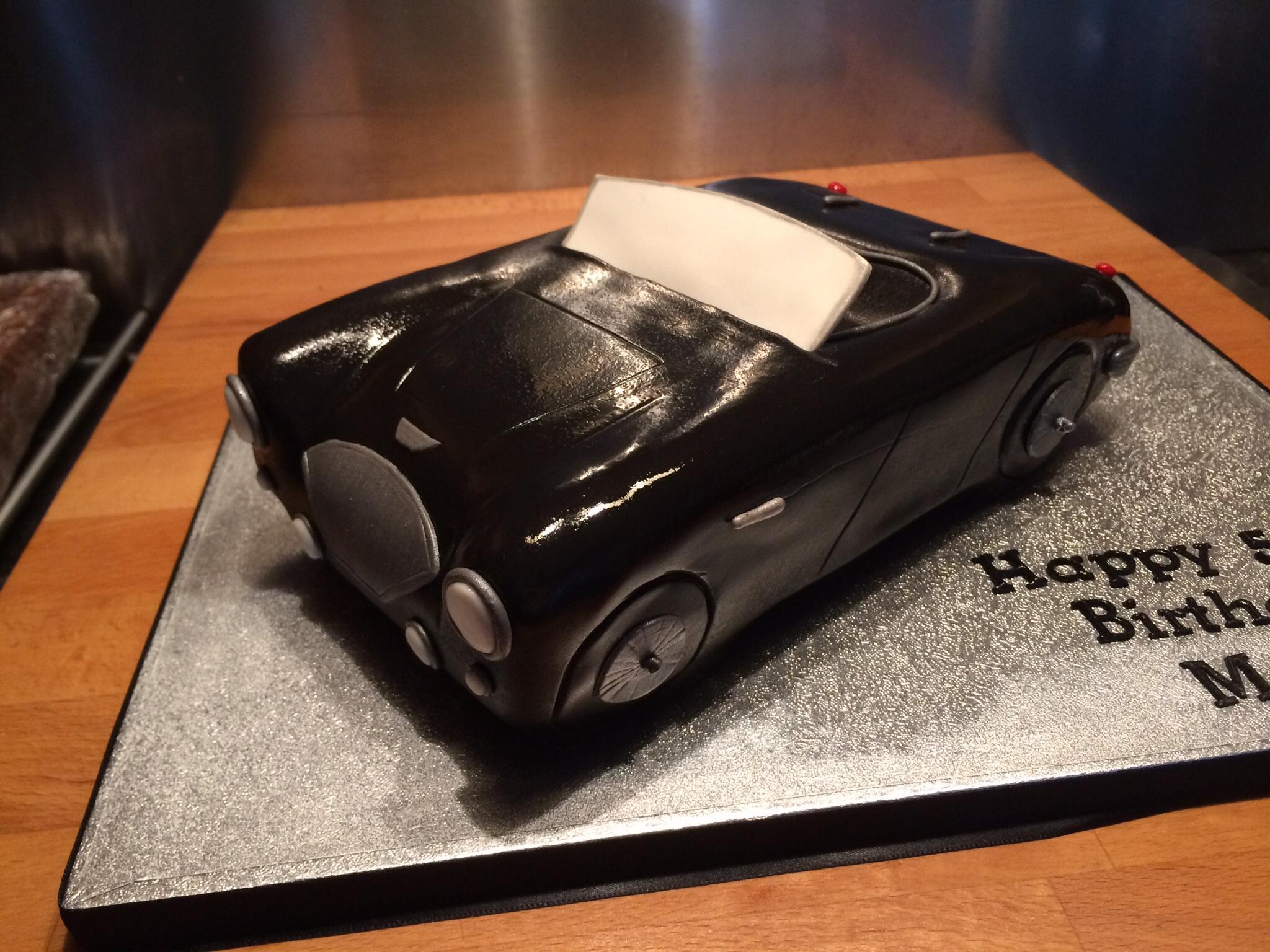 Austin Healey 100 Cake Little Black Hen