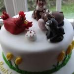 Little red hen cake