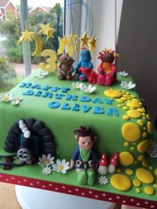 Cleebies cake