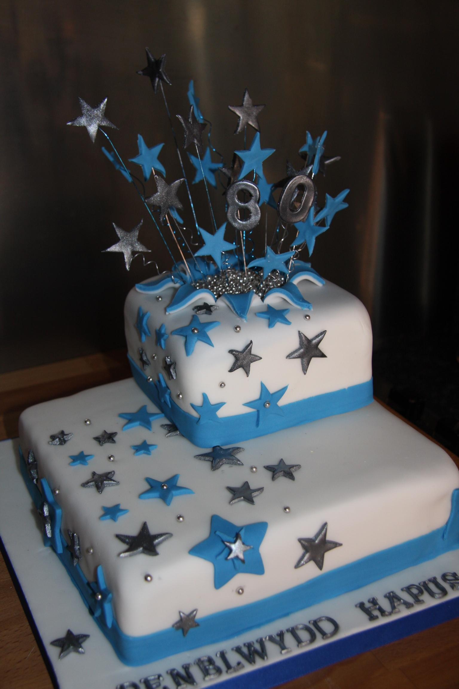 Star Burst Cake