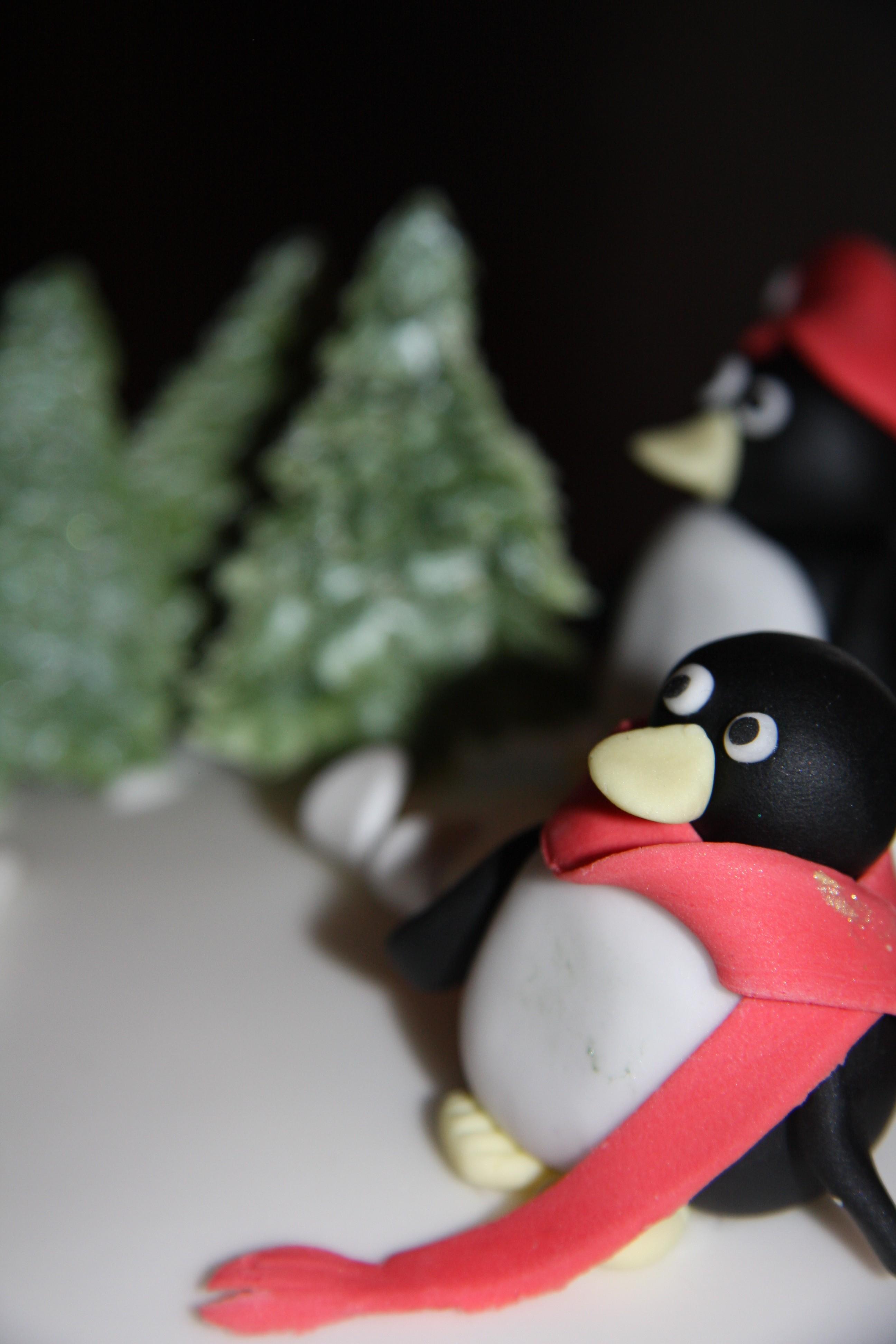 Skiing Penguins