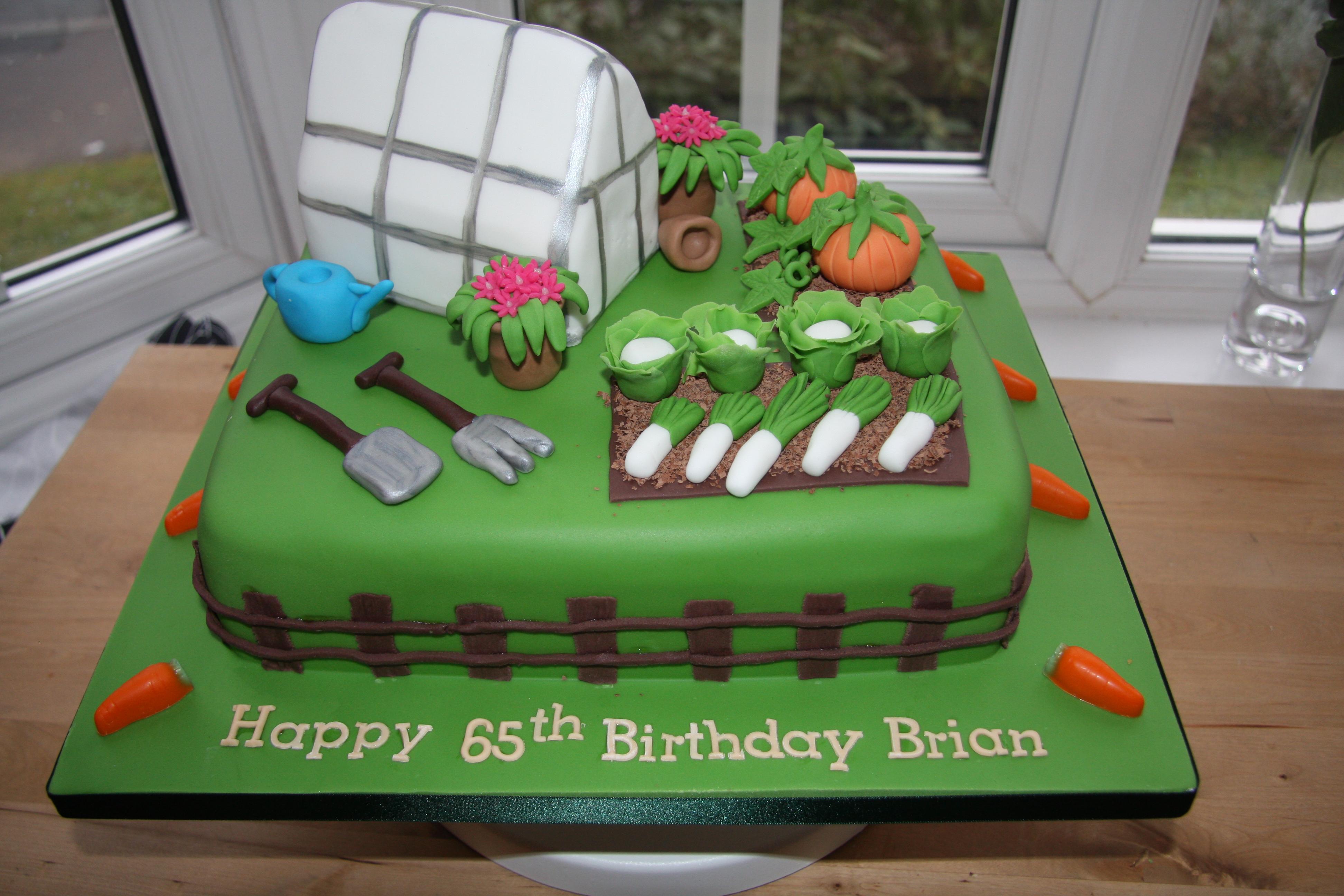 Cake for the keen gardener