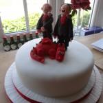 Welsh civil partnership cake