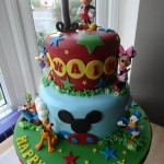 Micky's Clubhouse cake